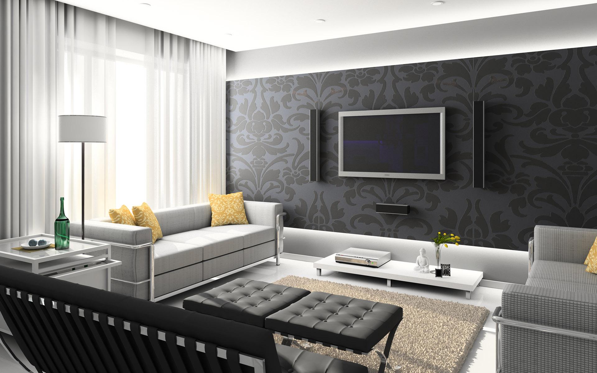 Home; 406536 Modern Home Interior